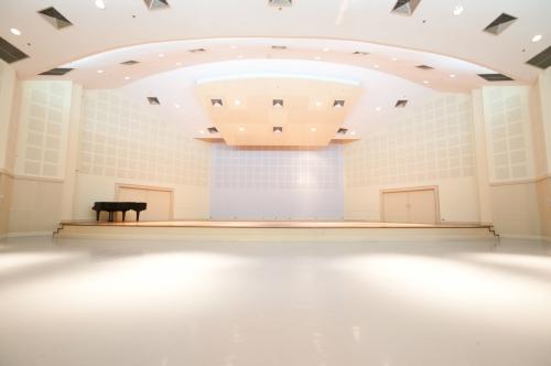 modern concert hal